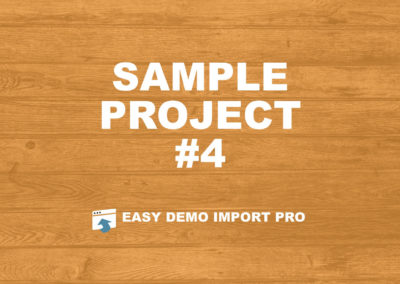 Sample Project #4